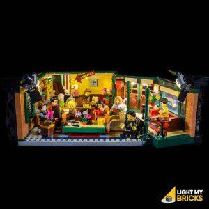 21319 LEGO Friends Central Perk Front Light My Bricks