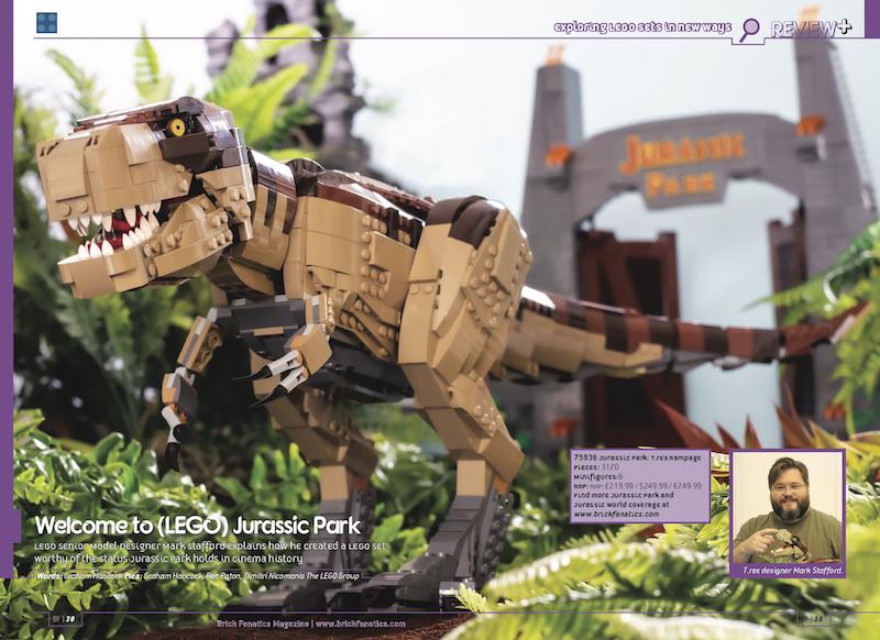 75936 Jurassic Park: T. rex Rampage in Brick Fanatics Magazine