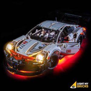 42096 LEGO Porsche 911RSR Front Door Open Light My Bricks