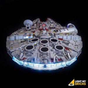 75192 LEGO Star Wars UCS Millennium Falcon REAR Light My Bricks