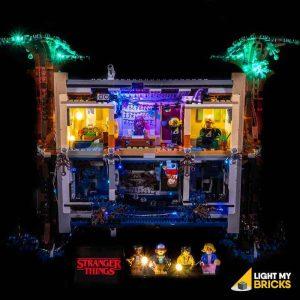 75810 LEGO Stranger Things The Upside Back Light My Bricks