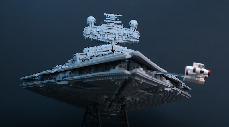 Inside Lego S 75252 Imperial Star Destroyer