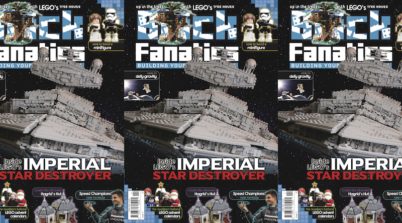 Brick Fanatics Magazine Issue 11 Cover Title