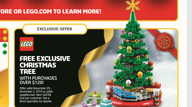LEGO 40338 Christmas Tree Deal Featured 800 445