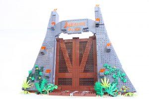 75936 Jurassic Park: T. rex Rampage gate