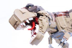 75936 Jurassic Park: T. rex Rampage head