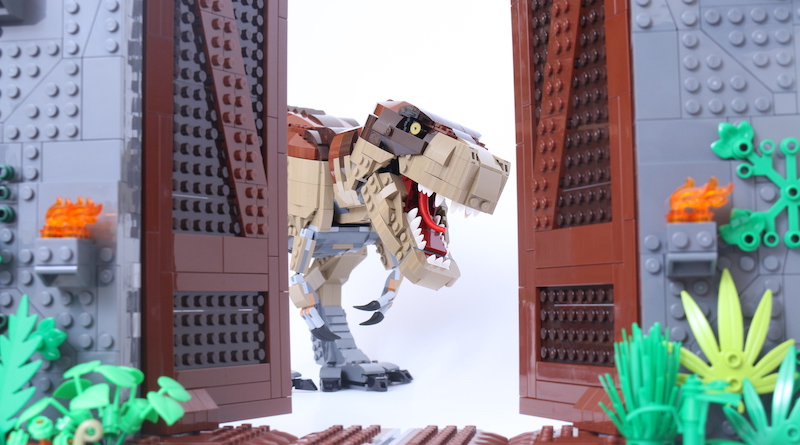 LEGO 75936 Jurassic Park T Rex Rampage Review Title