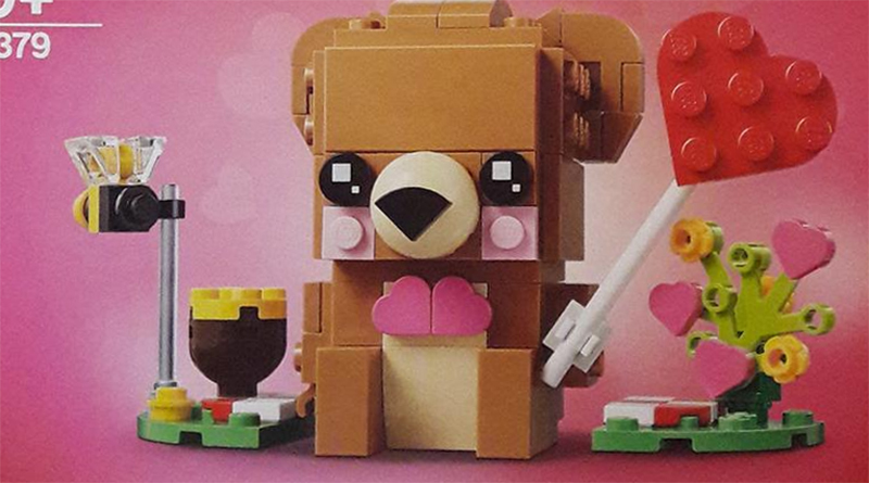 LEGO BrickHeadz 40379 Valentine Bear Featured 800 445