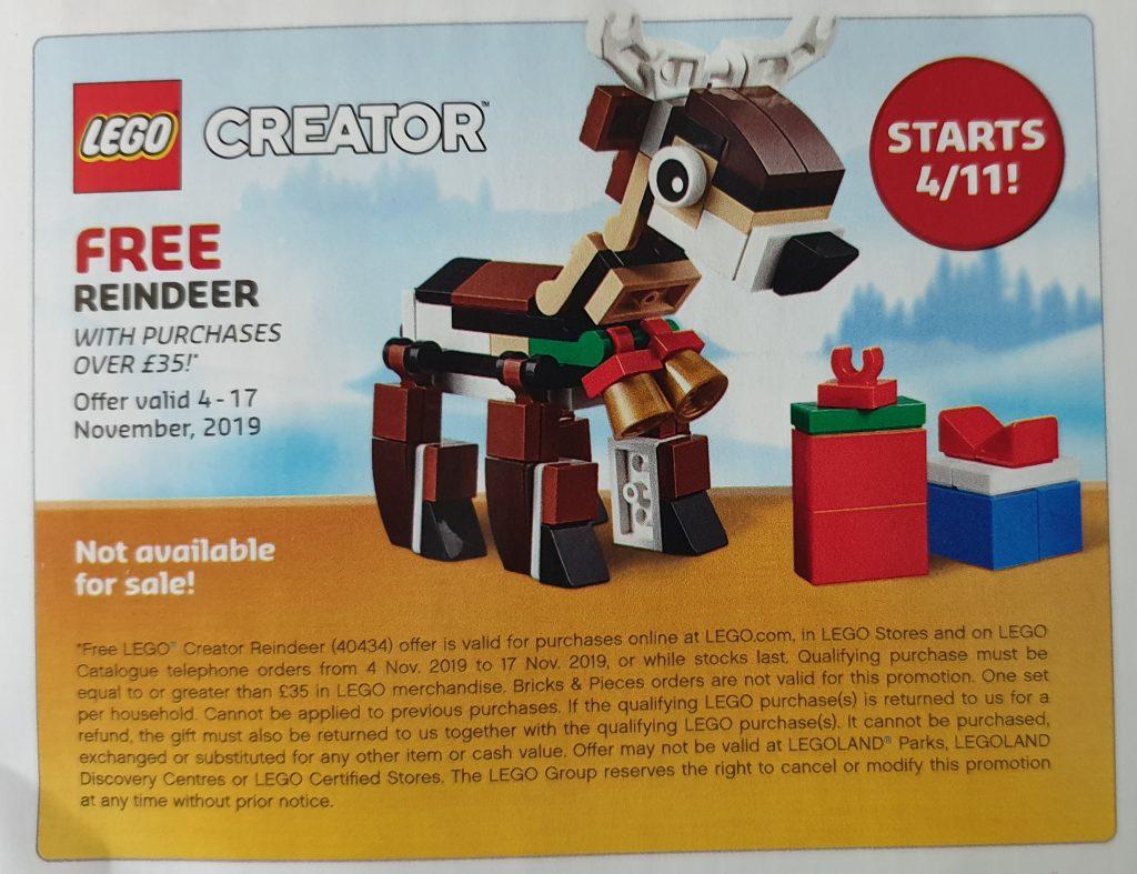LEGO Creator 40434 Reindeer Deal 1024x787