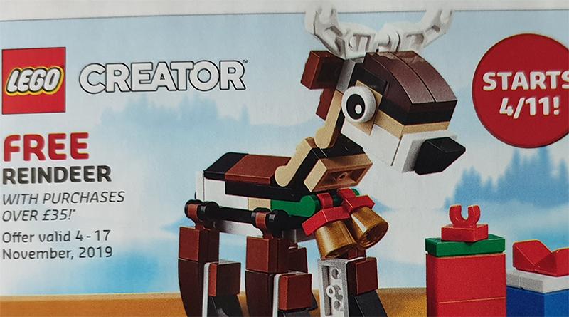 LEGO Creator 40434 Reindeer Deal Featured 800 445