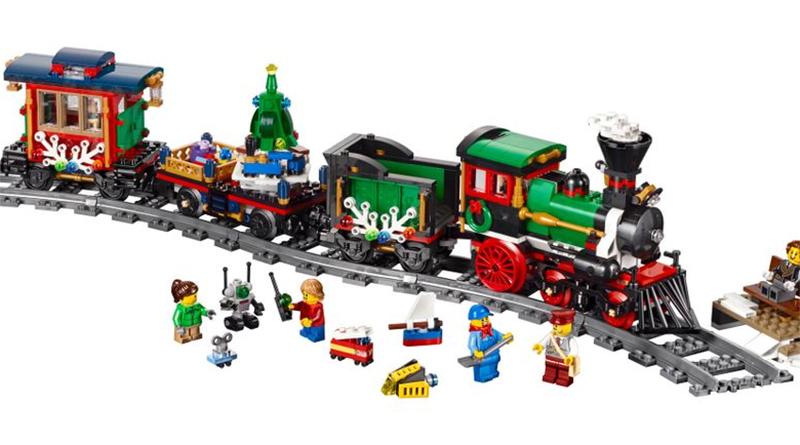 LEGO Creator Expert 10254 Winter VIllage Train Featured 800 445