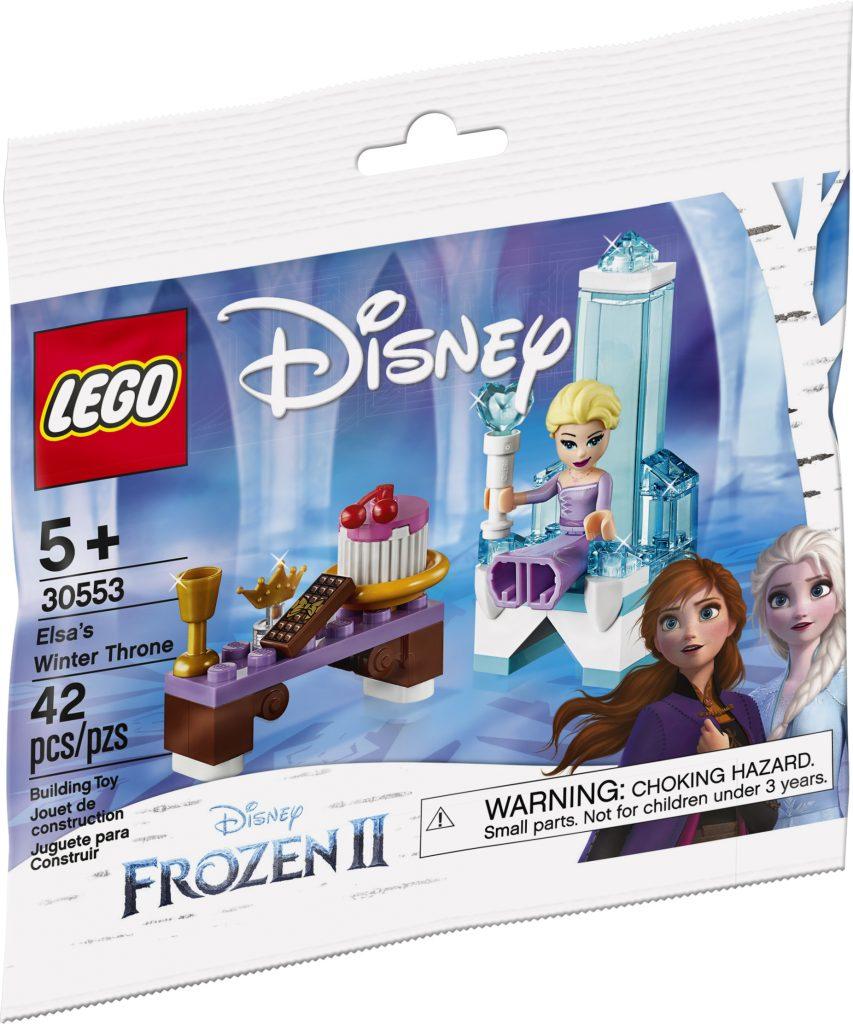 LEGO Disney 30553 Frozen II Elsas Winter Throne 1 853x1024