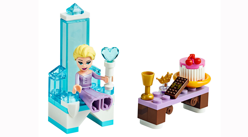 LEGO Disney 30553 Frozen II Elsas Winter Throne featured 800 445