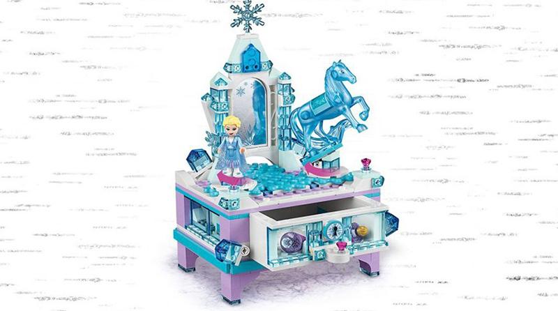 LEGO Disney 41168 Elsas Jewelry Box Featured 800 445
