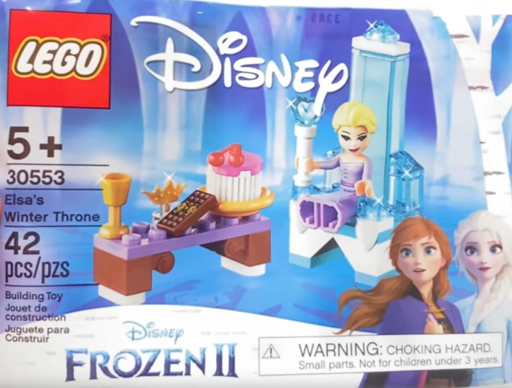 LEGO Frozen 30553 Elsas Winter Throne 1024x776