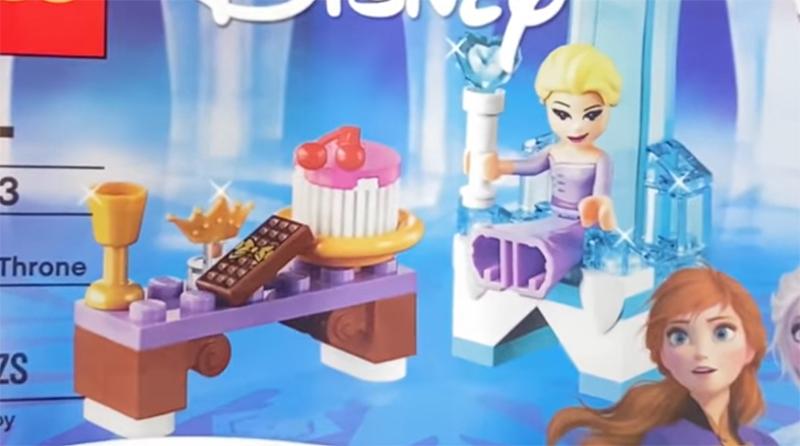 LEGO Frozen 30553 Elsas Winter Throne Featured 800 445