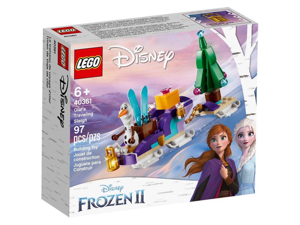 LEGO Frozen II 40361 Olafs Travelling Sleigh 1 1024x768