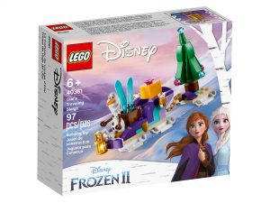LEGO Frozen II 40361 Olafs Travelling Sleigh 1 300x225