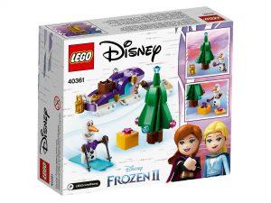 LEGO Frozen II 40361 Olafs Travelling Sleigh 2 300x225