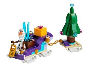 LEGO Frozen II 40361 Olafs Travelling Sleigh 3 300x225