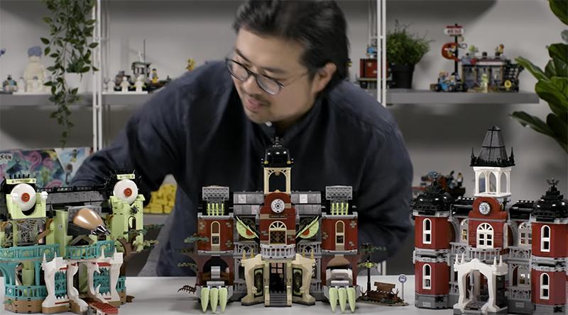 LEGO Hidden Side 70425 Newbury Haunted High School Video Featured 800 445