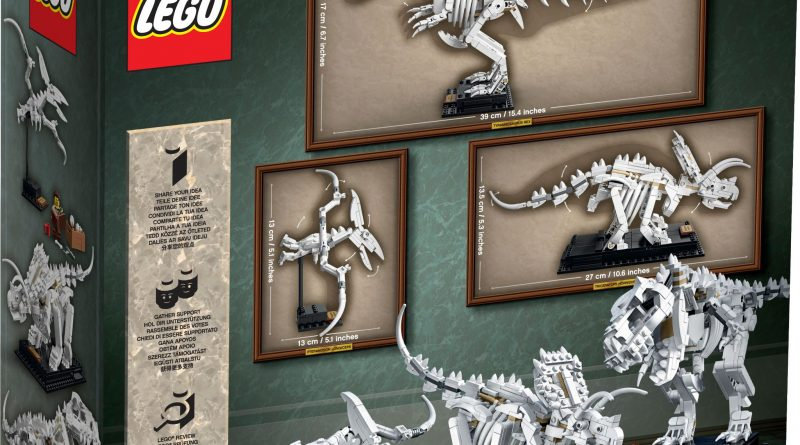 LEGO Ideas 21320 Dinosaur Fossils Official 19 800x445