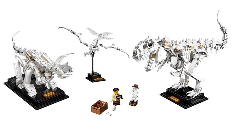 LEGO Ideas 21320 Dinosaur Fossils official featured 800 445
