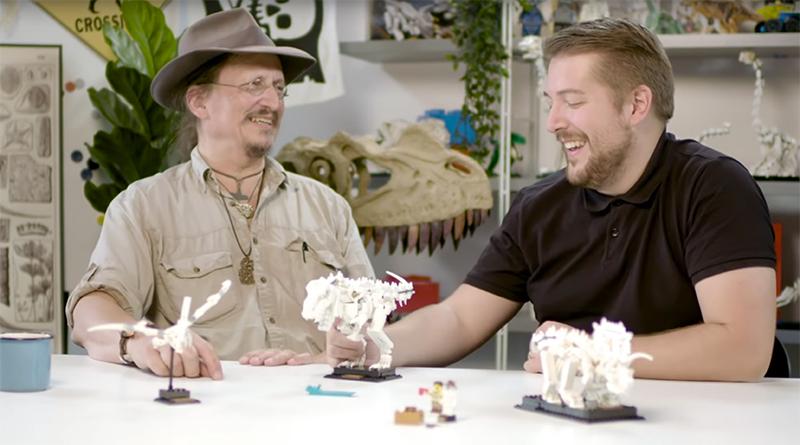 LEGO Ideas 21320 Dinosaur Fossils Video Featured 800 445