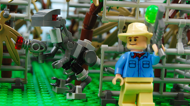 LEGO Jurassic Park Attraction Build Featured 800 445