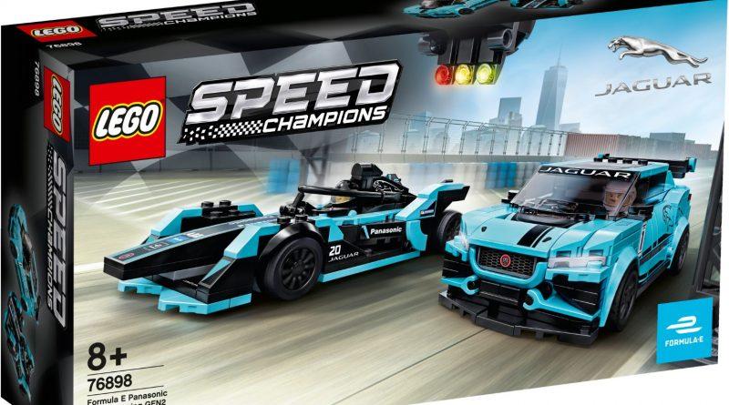 LEGO Speed Champions 76898 Formula E Panasonic Jaguar Racing 1 800x445