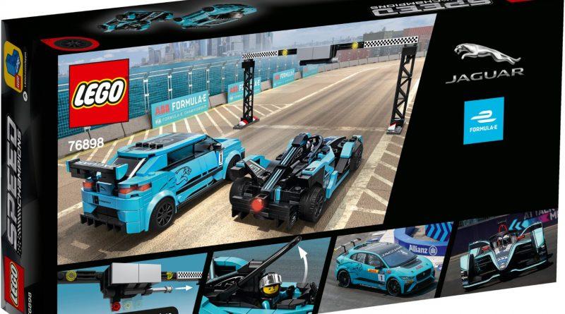 LEGO Speed Champions 76898 Formula E Panasonic Jaguar Racing 3 800x445