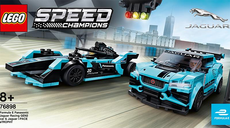 LEGO Speed Champions 76898 Formula E Panasonic Jaguar Racing Featured 800 445