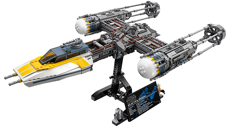 LEGO Star Wars 75181 Y Wing Starfighter Featured 800 445 1