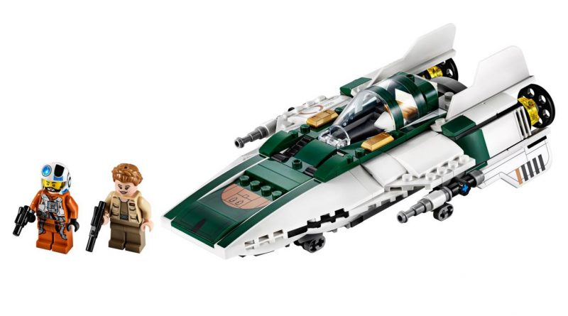 LEGO Star Wars 75248 A wing Starfighter featured 800 445