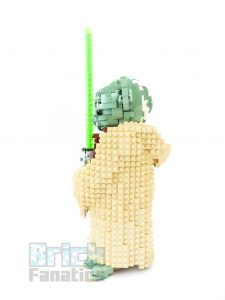 75255 Yoda from the side