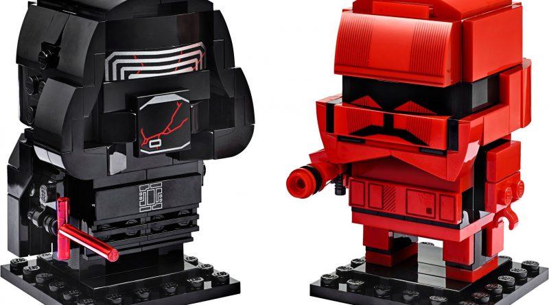 LEGO Star Wars BrickHeadz 75232 Kylo Ren Sith Trooper 1