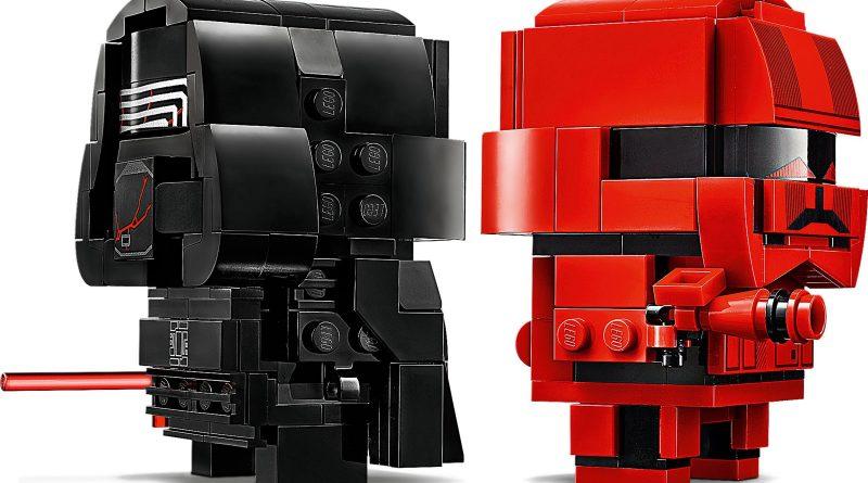 LEGO Star Wars BrickHeadz 75232 Kylo Ren Sith Trooper 5