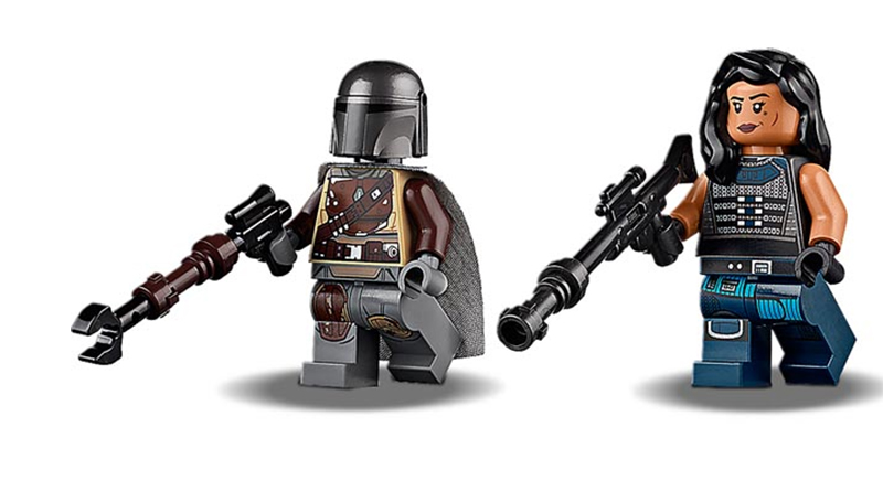 LEGO Star Wars The Mandalorian Minifigures Featured 800 445