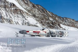 LEGO Star Wars X wing Swiss Alps 12