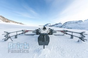 LEGO Star Wars X wing Swiss Alps 13
