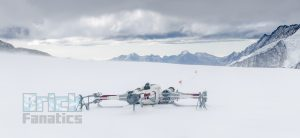 LEGO Star Wars X wing Swiss Alps 14