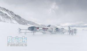 LEGO Star Wars X wing Swiss Alps 15