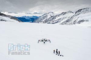 LEGO Star Wars X wing Swiss Alps 19