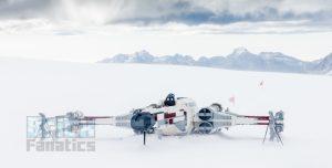 LEGO Star Wars X wing Swiss Alps 20