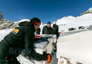 LEGO Star Wars X wing Swiss Alps 3