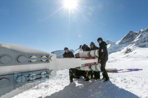 LEGO Star Wars X wing Swiss Alps 4
