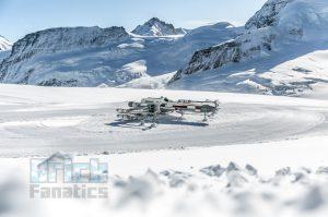 LEGO Star Wars X wing Swiss Alps 5