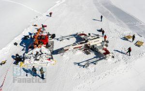 LEGO Star Wars X wing Swiss Alps 6