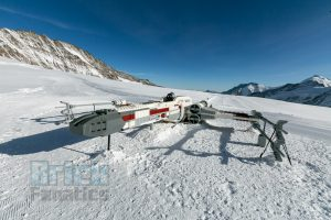 LEGO Star Wars X wing Swiss Alps 7