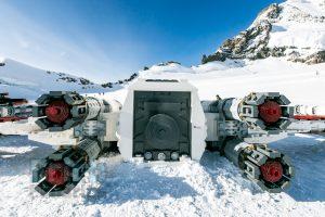 LEGO Star Wars X wing Swiss Alps 8